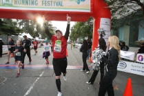 Oakland Running Festival 5K Finish